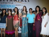 Chennai Fashion Week press meet with Top Models at Taja Land's End