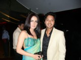 Celina and Boman at Times Movie Guide - The Best of Hollywood at Cinemax