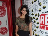 Sonam Kapoor and Aisha team at Red FM