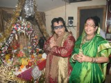Bappi Lahiri celebrates the Ganpati festival