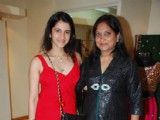 Nisha Sagar's winter collection launch at Juhu