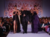 Top models on the ramp to launch Avon Cosmetics at Taj Land's End