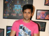 Emraan Hashmi on the sets of 'Entertainment Ke Liye Kuch Bhi Karega' at Yashraj Studio in Mumbai