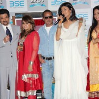 Cast at 'No problem' mahurat at BSE | No Problem Event Photo Gallery