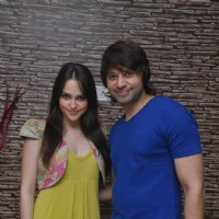 Maradona Rebello and Hazel at Press meet of 'Dunno Y Na Jaane Kyun...' | Dunno Y Na Jaane Kyun... Event Photo Gallery
