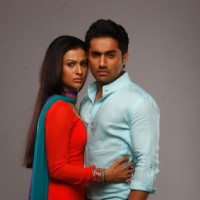 Shalini Chandran and Vishal Karwal as Surbhi & Abhay on COLORS Rishton Se Badi Pratha