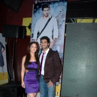 "Akshay Oberoi and Sandeepa Dhar at launch of ""Isi Life Mein"" Film 