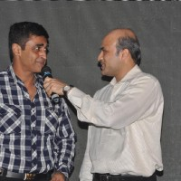 "Sooraj Barjatya with Mohnish Behl in Launch of ""Isi Life Mein"" Film"