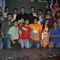 "Cast and crew at Launch of ""Isi Life Mein"" Film 
