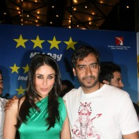 Kareena and Ajay Devgan at Golmaal 3 success bash, Hyatt Regency | Golmaal 3 Event Photo Gallery