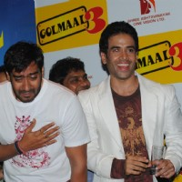 Tusshar Kapoor and Ajay Devgan at Golmaal 3 success bash, Hyatt Regency | Golmaal 3 Event Photo Gallery