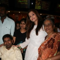 Aishwarya Rai at special show of Guzaarish for special kids and paraplegic patients at PVR Cinemas i | Guzaarish Event Photo Gallery