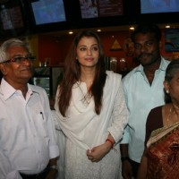 Aishwarya Rai at special show of Guzaarish for special kids and paraplegic patients at PVR Cinemas in Juhu, Mumbai | Guzaarish Event Photo Gallery