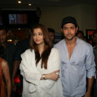 Hrithik Roshan and Aishwarya Rai at special show of Guzaarish for special kids and paraplegic patients at PVR Cinemas in Juhu, Mumbai | Guzaarish Event Photo Gallery