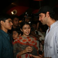 Hrithik Roshan at special show of Guzaarish for special kids and paraplegic patients at PVR Cinemas | Guzaarish Event Photo Gallery