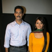 Aarya Kumar and Pariva at Press meet of a new show ''Armanon Ka Balidaan-Aarakshan'' on Imagine