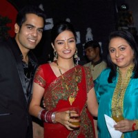Renuka Israni at Wedding celebration party of Actor Sachal Tyagi & Actress Jaya Binju