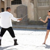 Akshay Kumar sword fight with Kareena