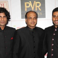Abhishek Bachchan and Ashutosh Gowarikar at Premier Of Film Khelein Hum Jee Jaan Sey | Khelein Hum Jee Jaan Sey Event Photo Gallery
