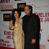 Priyanka Chopra and Ashutosh Gowarikar at Premier Of Film Khelein Hum Jee Jaan Sey | Khelein Hum Jee Jaan Sey Event Photo Gallery