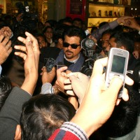Anil Kapoor at Ambience Mall, in New Delhi to promote his film ''No Problem'' on Sunday. . | No Problem Event Photo Gallery