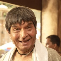 Asrani looking happy in Billu Barber | Billu Barber Photo Gallery