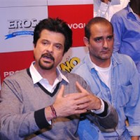 Anil Kapoor and Akshay Khanna at Promotion of 'No Problem' at the Provogue Studio, Mumbai | No Problem Event Photo Gallery