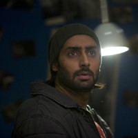 Abhishek looking shocked