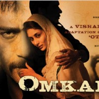 Poster of Omkara introducing Ajay,Saif, and Kareena | Omkara Posters