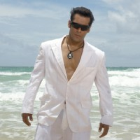Sexy Salman in White | Partner Photo Gallery