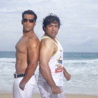 Salman and Govinda showing their body | Partner Photo Gallery