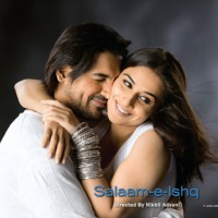 Romantic scene of John and Vidya | Salaam-e-ishq Photo Gallery