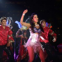 Mallika Sherawat perform at Sahara Star's Seduction 2011. .