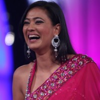 Shweta Tiwari at Finale of Bigg Boss 4