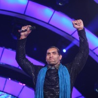 Khali at Finale of Bigg Boss 4