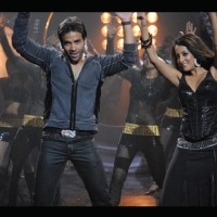 Tusshar and Raima enjoying dance