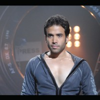 Tusshar Kapoor looking serious