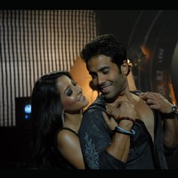 Tusshar and Raima romantic scene