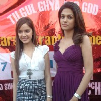 Shazahn Padamsee and Shraddha Das at Dil Toh Baccha Hai Ji Kite Flying Event | Dil Toh Baccha Hai Ji Event Photo Gallery