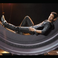 Tushar Kapoor resting and thinking