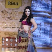 Celina Jaitley walks the ramp for Shabana Azmi's charity show 'Mizwan'