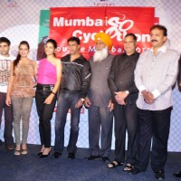 Dil Toh Baccha Hai Ji starcast at Mumbai Cyclothon press meet at Trident. . | Dil Toh Baccha Hai Ji Event Photo Gallery