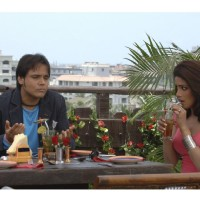 Yash Tonk and Priyanka Chopra having a drink
