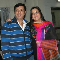 Madhur Bhandarkar and Ms Pratibha Advani at a special screening of film 'Dil Toh Baccha Hai Ji' in Delhi on 3 Feb 2011. . | Dil Toh Baccha Hai Ji Event Photo Gallery