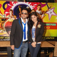 Jackky Bhagnani and Pooja Gupta at F.A.L.T.U film press meet. . | F.A.L.T.U Event Photo Gallery