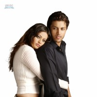 A still image of Kumar Saahil and Sneha Ullal