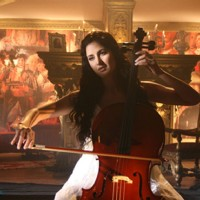 Katrina looking amazing with cello instrument | Yuvvraaj Photo Gallery