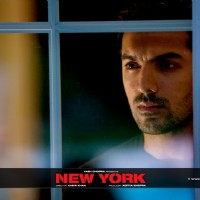 John Abraham looking  tensed | New York Photo Gallery