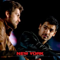 John Abraham talking to Neil Nitin Mukesh | New York Photo Gallery