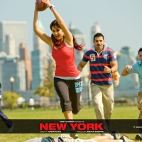 Katrina Kaif and John Abraham playing rugby | New York Photo Gallery